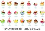 vector illustration of various... | Shutterstock .eps vector #387884128