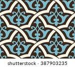 uzbekistan antique seamless...   Shutterstock .eps vector #387903235