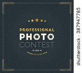 photography logo design...   Shutterstock .eps vector #387947785