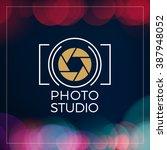 photography logo design... | Shutterstock .eps vector #387948052