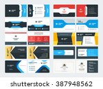set of creative and clean... | Shutterstock .eps vector #387948562