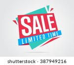 special offer sale tag discount ... | Shutterstock .eps vector #387949216