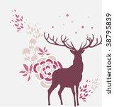 modern christmas template | Shutterstock .eps vector #38795839
