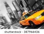 new york   august 28  yellow... | Shutterstock . vector #387966436
