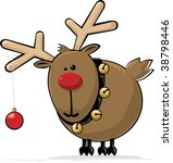 Red Nosed Reindeer With Jingle...