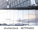 steel  glass  geometry and... | Shutterstock . vector #387996802