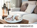 beach interior decor  sea... | Shutterstock . vector #388004935