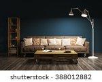 Modern Evening Interior Of...