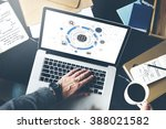 global communication networking ... | Shutterstock . vector #388021582