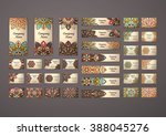 big templates set. business... | Shutterstock .eps vector #388045276