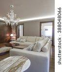 luxury apartment living room | Shutterstock . vector #388048066