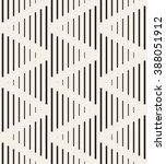 vector seamless pattern. modern ... | Shutterstock .eps vector #388051912