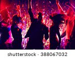Stock photo young people dancing at party 388067032