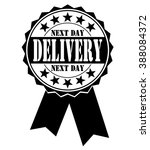 next day delivery icon  vector... | Shutterstock .eps vector #388084372