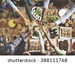 friends happiness enjoying...   Shutterstock . vector #388111768