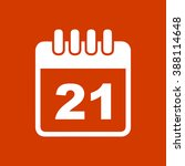 calendar day icon | Shutterstock .eps vector #388114648