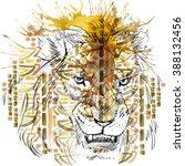 Lion. Lion Pencil Sketch. Lion...