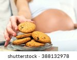 close up of a pregnant woman s... | Shutterstock . vector #388132978