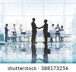 business people working working ... | Shutterstock . vector #388173256