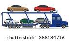 truck semi trailer for...   Shutterstock . vector #388184716