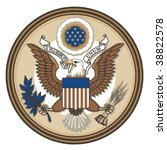 Great Seal Of United States Of...