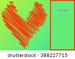 heart illustration icons...   Shutterstock . vector #388227715