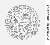 innovation round illustration   ... | Shutterstock .eps vector #388233715