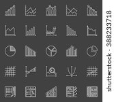 statistics icons collection  ... | Shutterstock .eps vector #388233718