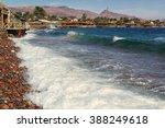 coastline in the center of...   Shutterstock . vector #388249618