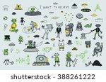 alien spaceship set