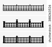 balustrade | Shutterstock .eps vector #388263526