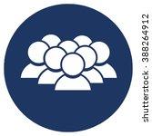 teamwork icon  | Shutterstock .eps vector #388264912