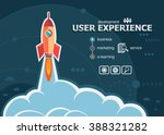 user experience and concept... | Shutterstock .eps vector #388321282