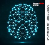 abstract polygonal brain with...   Shutterstock .eps vector #388328008