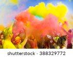 color holi festival | Shutterstock . vector #388329772