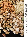 Small photo of nut selectionin dishes