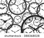clock background | Shutterstock .eps vector #388368028
