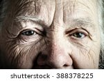 Portrait Of Elderly Woman....
