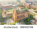 bird view of Sacred Heart Cathedral in Guangzhou