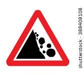 Uk Falling Rocks Or Debris Road ...