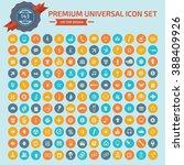 143 premium universal icon set... | Shutterstock .eps vector #388409926