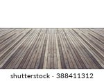Old Wooden Flooring With White...