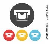 financial bank atm icon | Shutterstock .eps vector #388415668