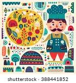 art vector colorful... | Shutterstock .eps vector #388441852