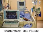 vital signs monitor in hospital | Shutterstock . vector #388443832