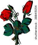 red roses | Shutterstock .eps vector #38845054