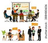 business characters scene.... | Shutterstock .eps vector #388480606
