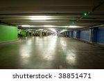 parking interior   underground... | Shutterstock . vector #38851471