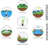 renewable alternative solar ...   Shutterstock .eps vector #388532362