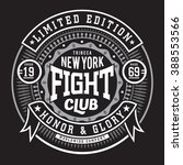 fight boxing  sport typography  ...